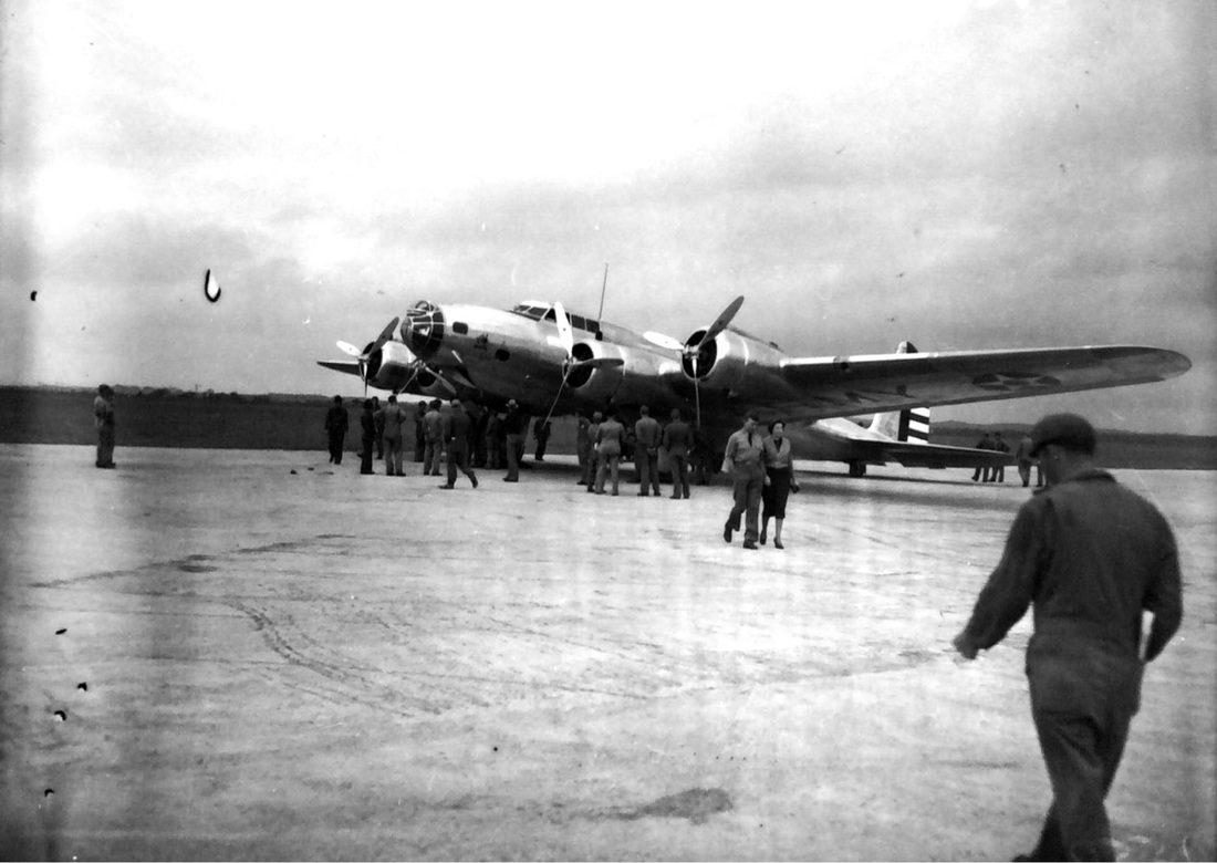 The B-17 bomber at Randolph Field, April 1937.  San Antonio is the birthplace of US military flight. | Drink up the history with The Barwalk, San Antonio TX