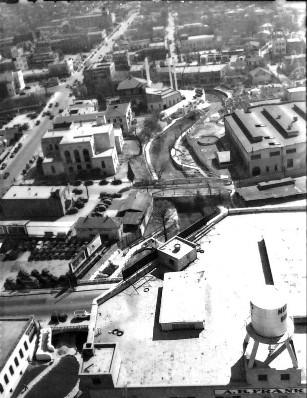 The South Bend of the San Antonio Riverwalk, 1940 | Drink up the history with The Barwalk, San Antonio TX