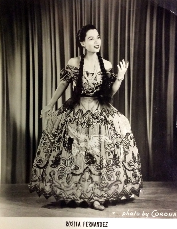Rosita Fernandez, star of stage and screen and Riverwalk | Drink up the history with The Barwalk, San Antonio TX