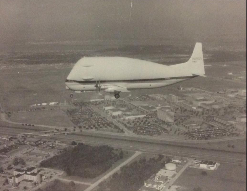NASA's modified Boeing KC-97